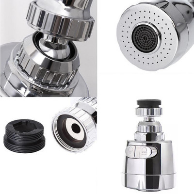 Arbitrary Adjustment 360 Water Saving Faucet Attachment